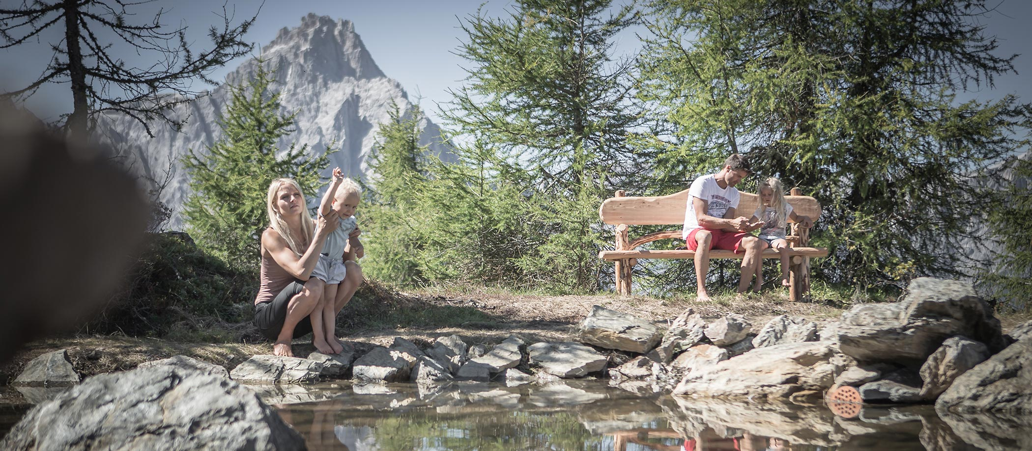 Your family vacation in the Dolomites