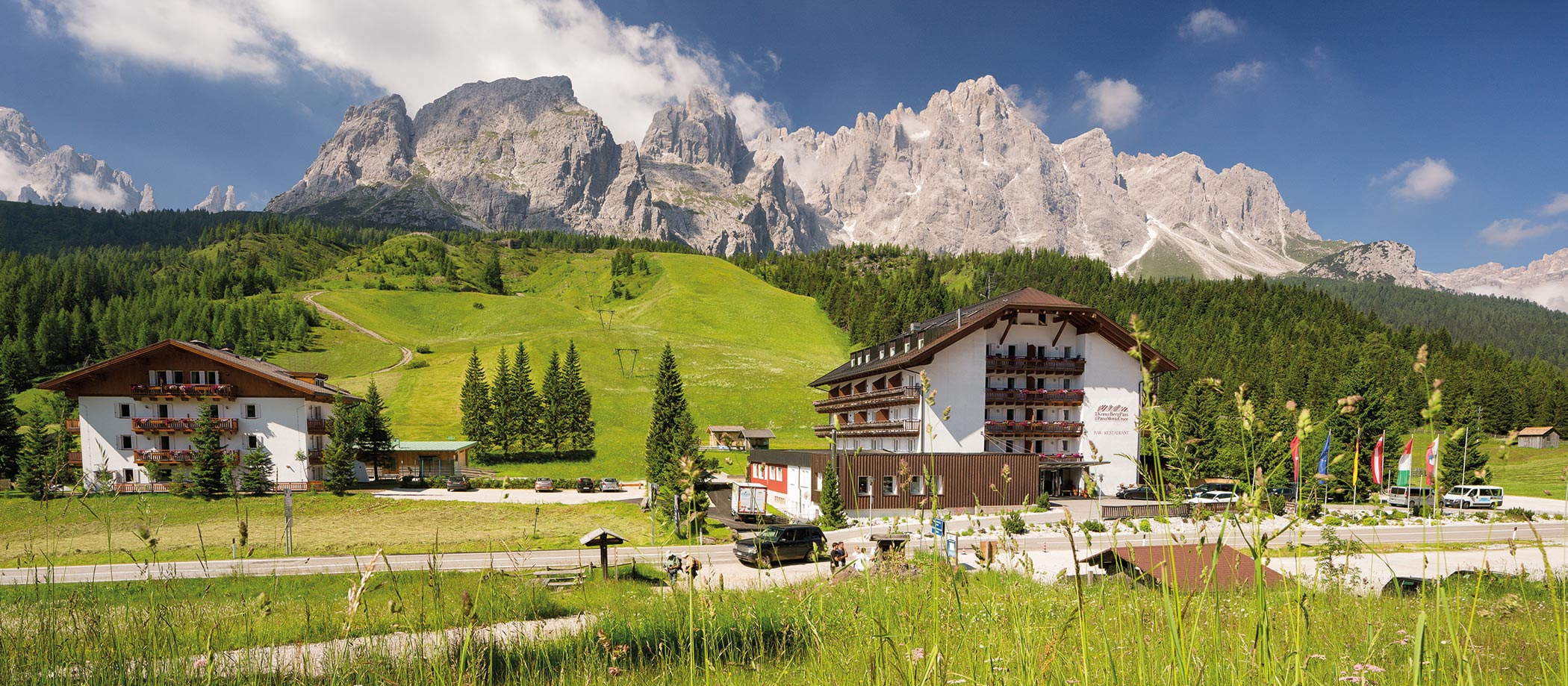 The Kreuzbergpass |  Passo Monte Croce in the Dolomites